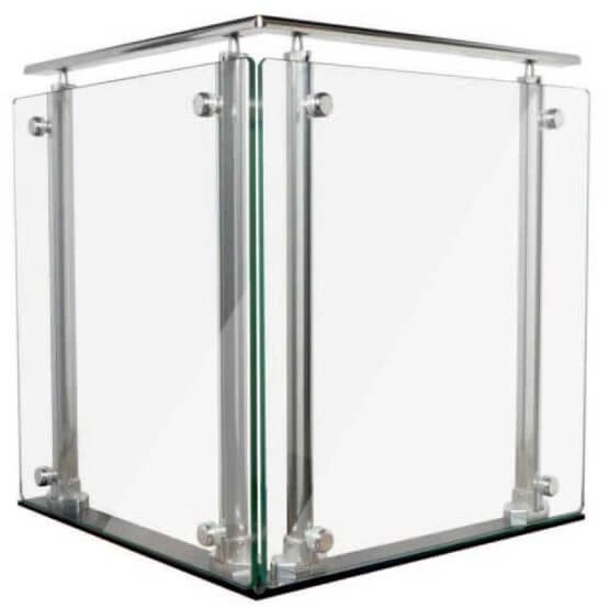 Balconi e balaustre in alluminio Alsistem