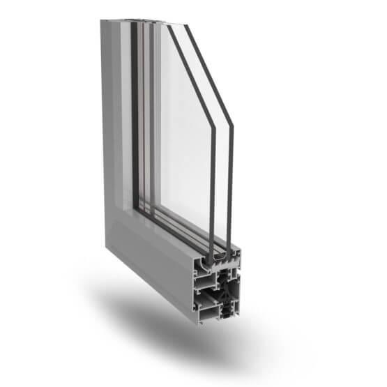 Profilati alluminio finestre Ecoslim 50TT Alsistem