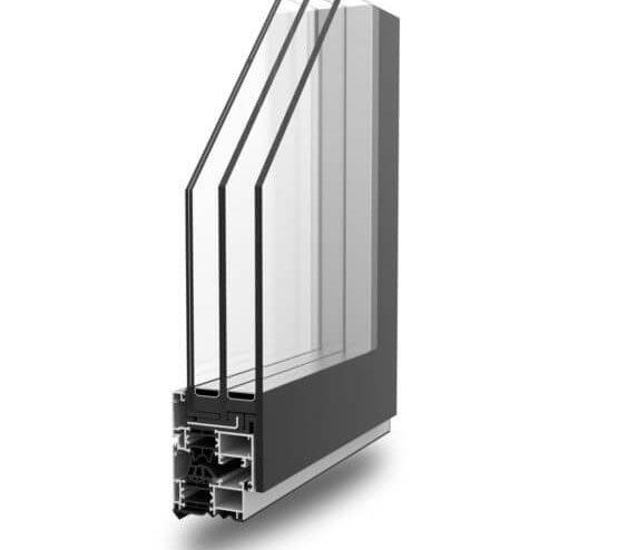 Profilati alluminio serramenti FullGlazing Alsistem
