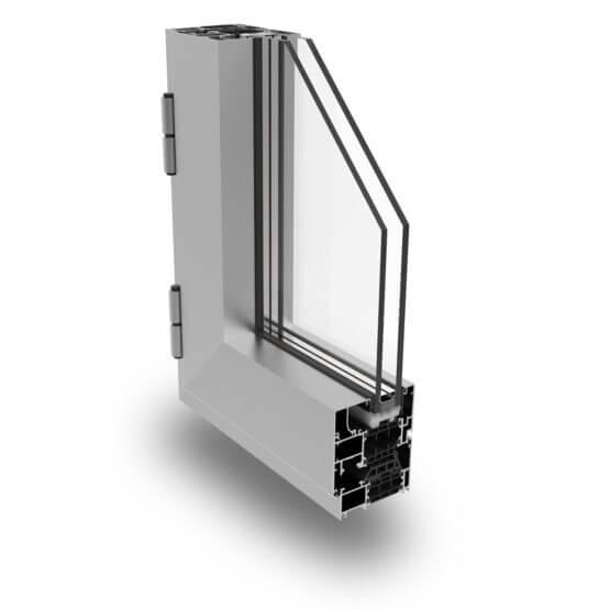Profilati alluminio Matic 72 PLUS Alsistem