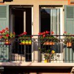 parapetti per balconi in alluminio dal design classico