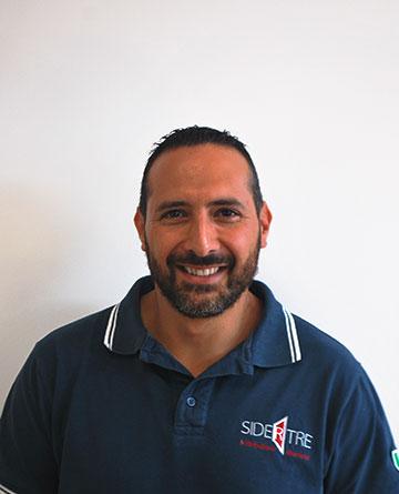 Roberto Fera responsabile magazzino accessori Alsistem Calabria