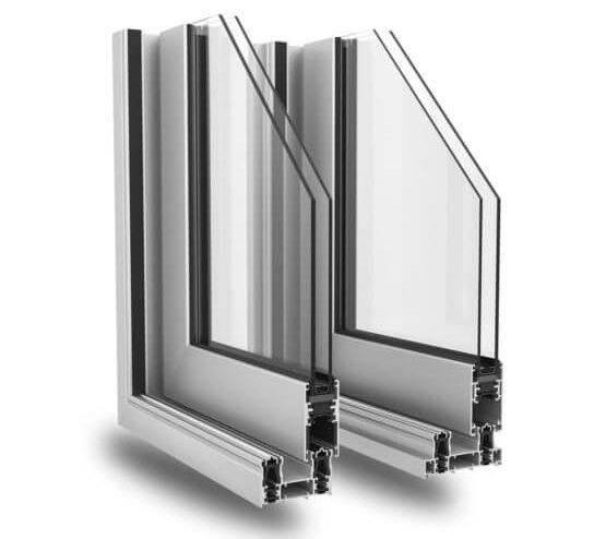 Scorrevole alluminio Slide 80/106 Plus Alsistem