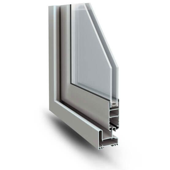 Scorrevole alluminio freddo Slide 60 Alsistem