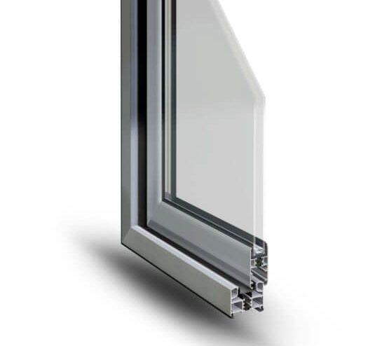 Scorrevole alluminio profilo Slide 65 Alsistem