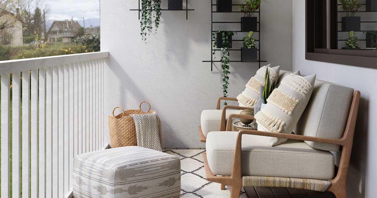 terrazzo arredato idee di design