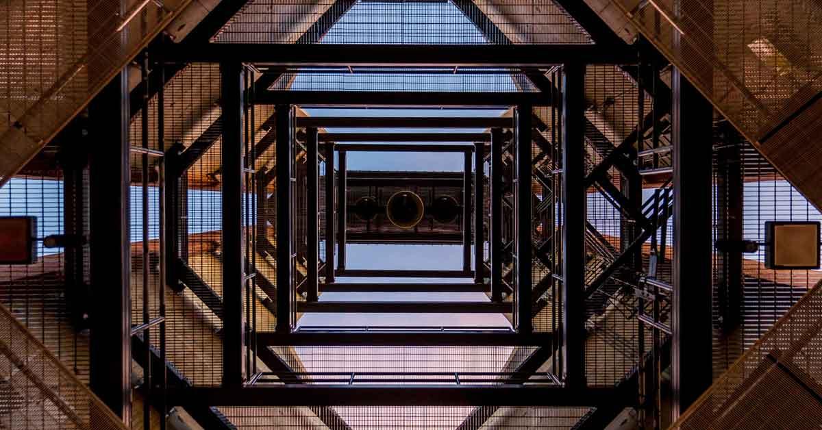 alluminio modulare applicato a un'architettura di design