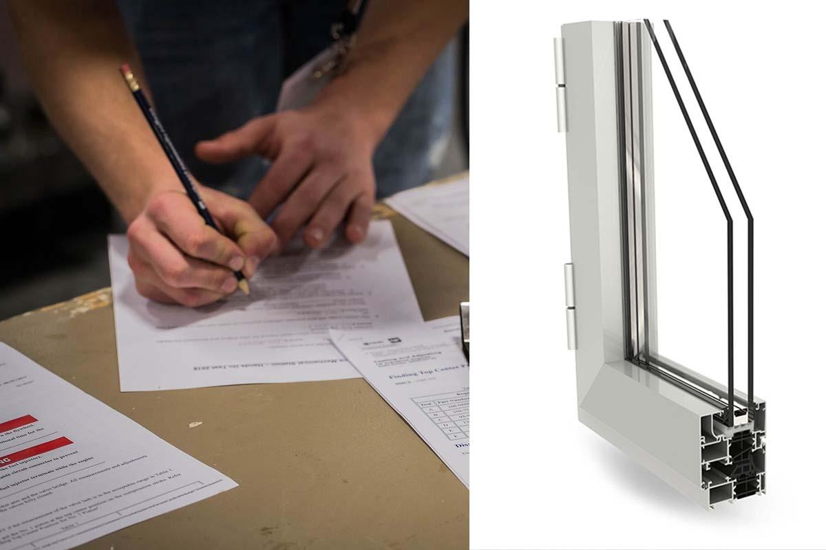 Certificazione serramenti alluminio