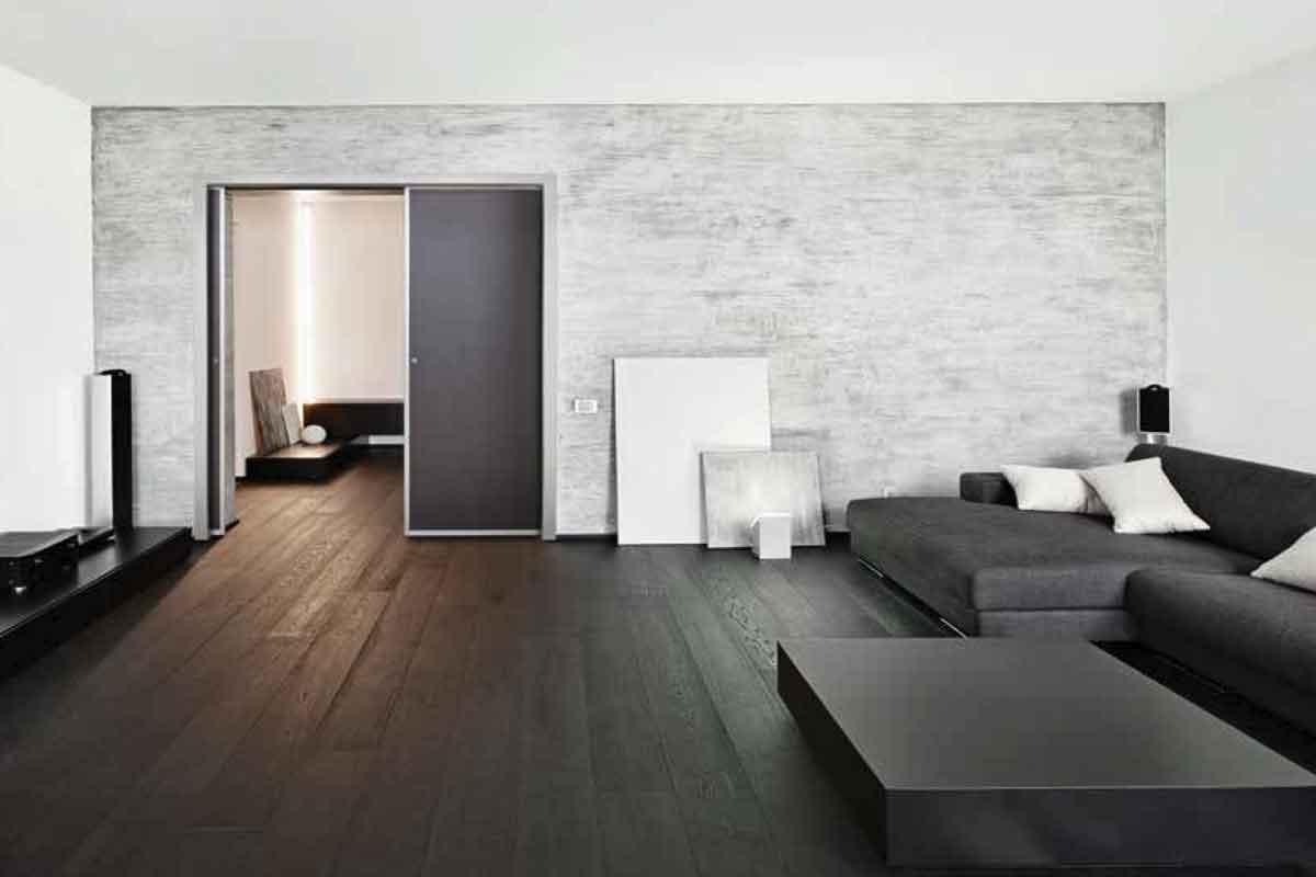 Porta in alluminio per interni