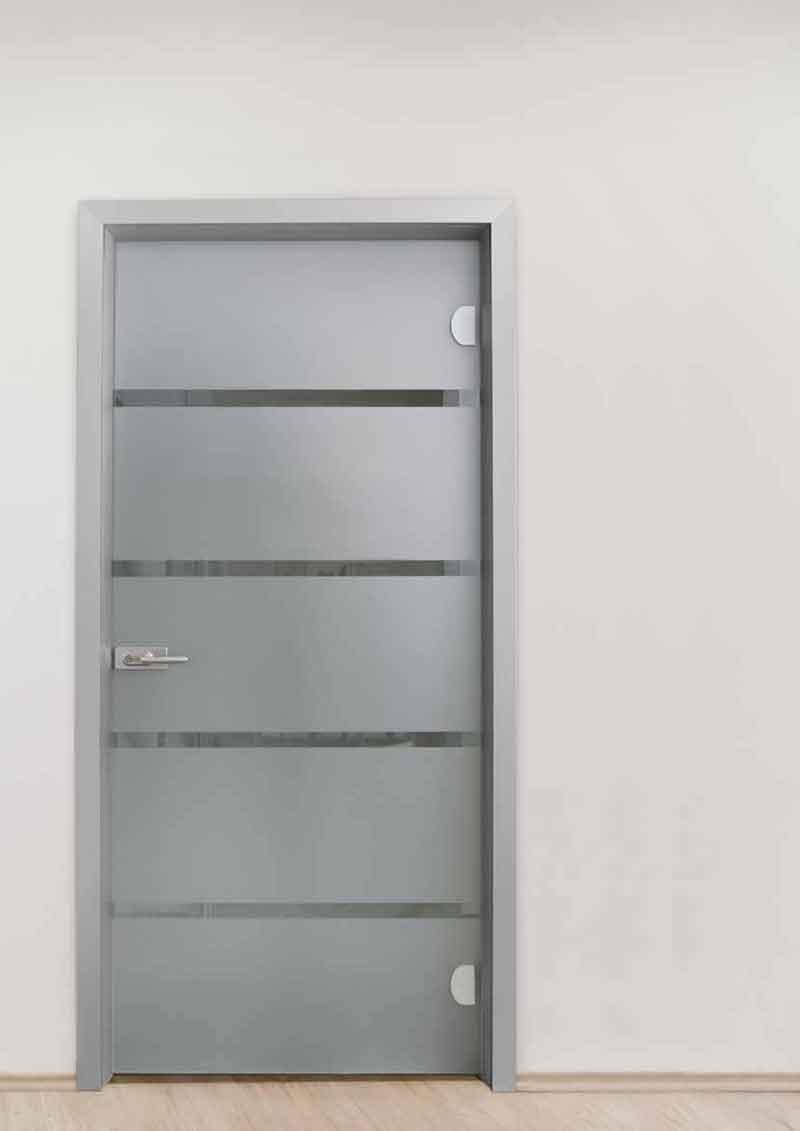 Porta in alluminio e vetro EasyDoor