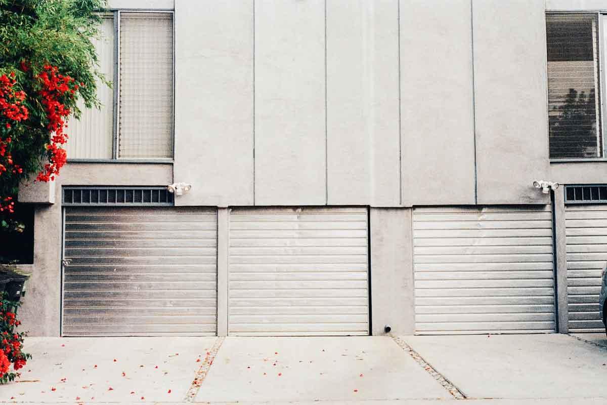 Porte in alluminio per garage
