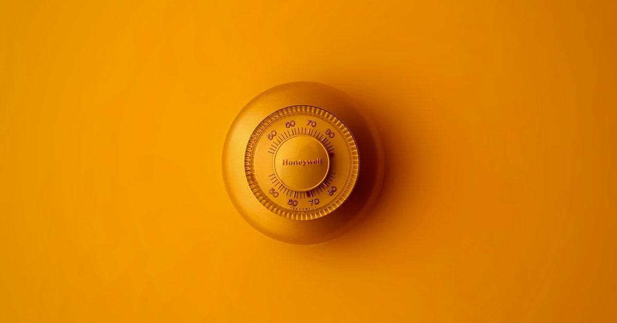 regolare temperatura ideale in casa con infissi giusti